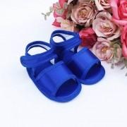 Sandália Azul Bic em Cetim