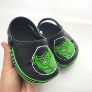 Sandália Crocs Babuche Hulk