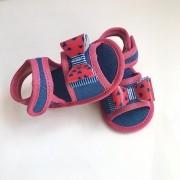 Sandália Jeans Pink Bebê