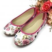 Sapatilha Floral Pink