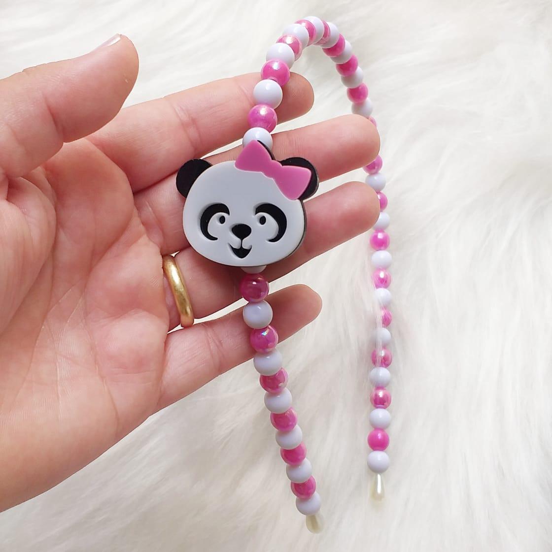 Aplique Acrílico Panda