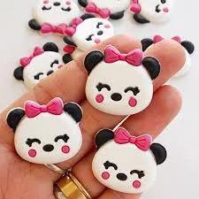 Aplique Emborrachado Panda