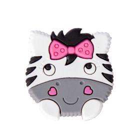 Aplique Emborrachado Zebra