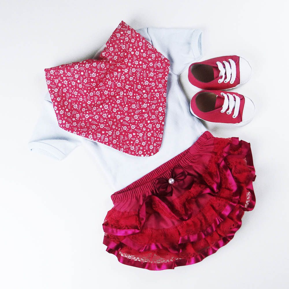 Bandana Floral Pink