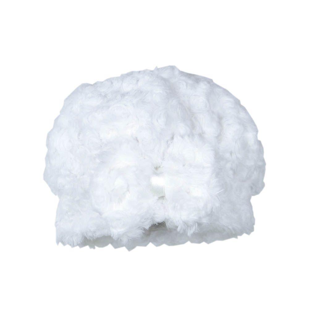 Boina Coleção Flower Branca