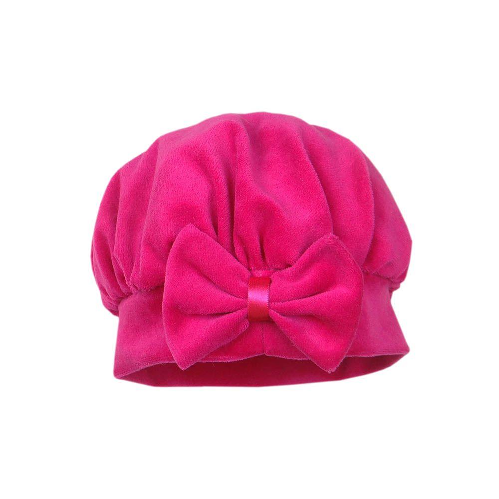 Boina Veludo Pink