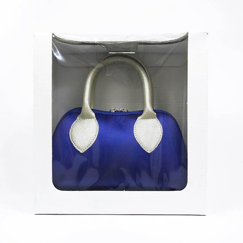 Bolsa Azul Bic em Cetim