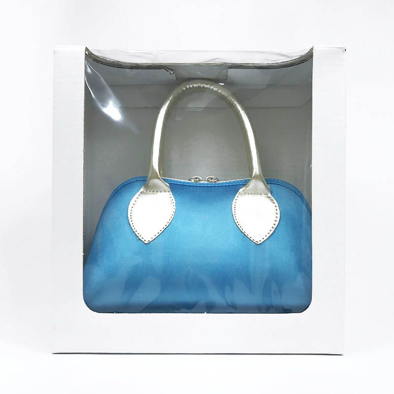 Bolsa Azul Frozen em Cetim