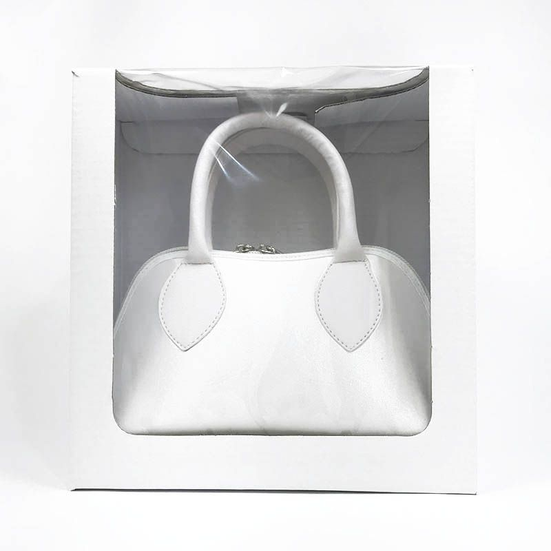 Bolsa Branca em Cetim