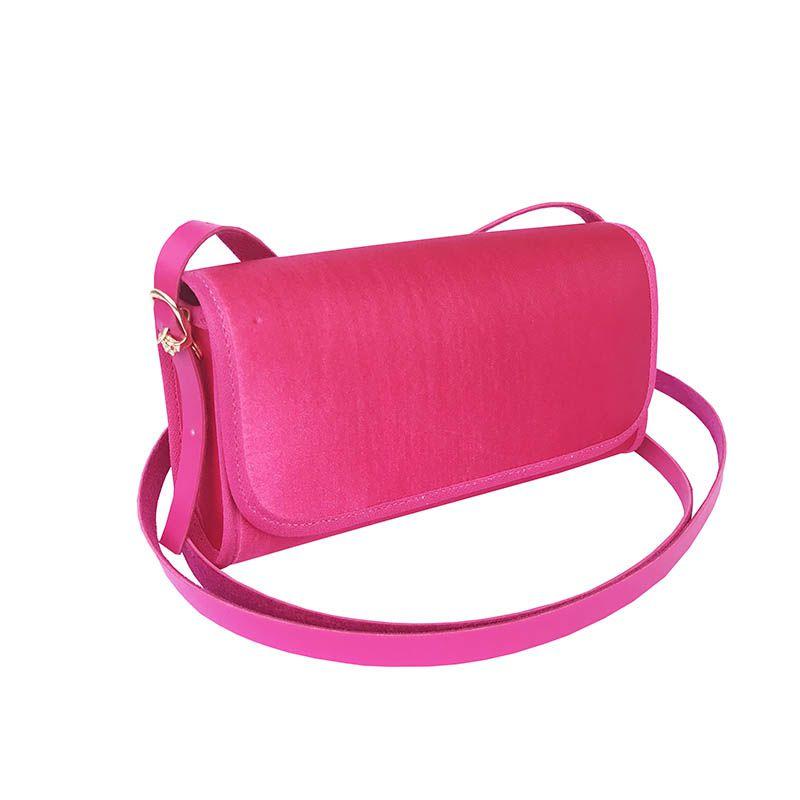 Bolsa Clutch Pink