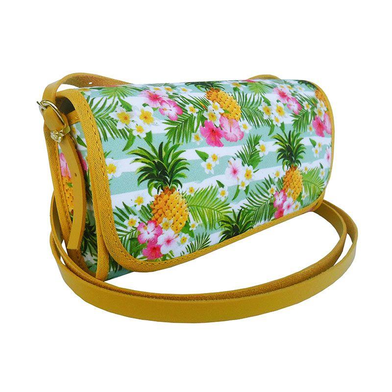 Bolsa Clutch Verão Abacaxi