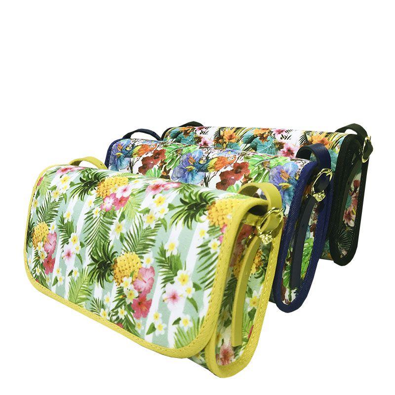 Bolsa Clutch Verão Folhagem