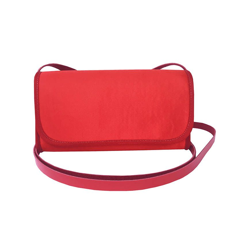 Bolsa Clutch Vermelha
