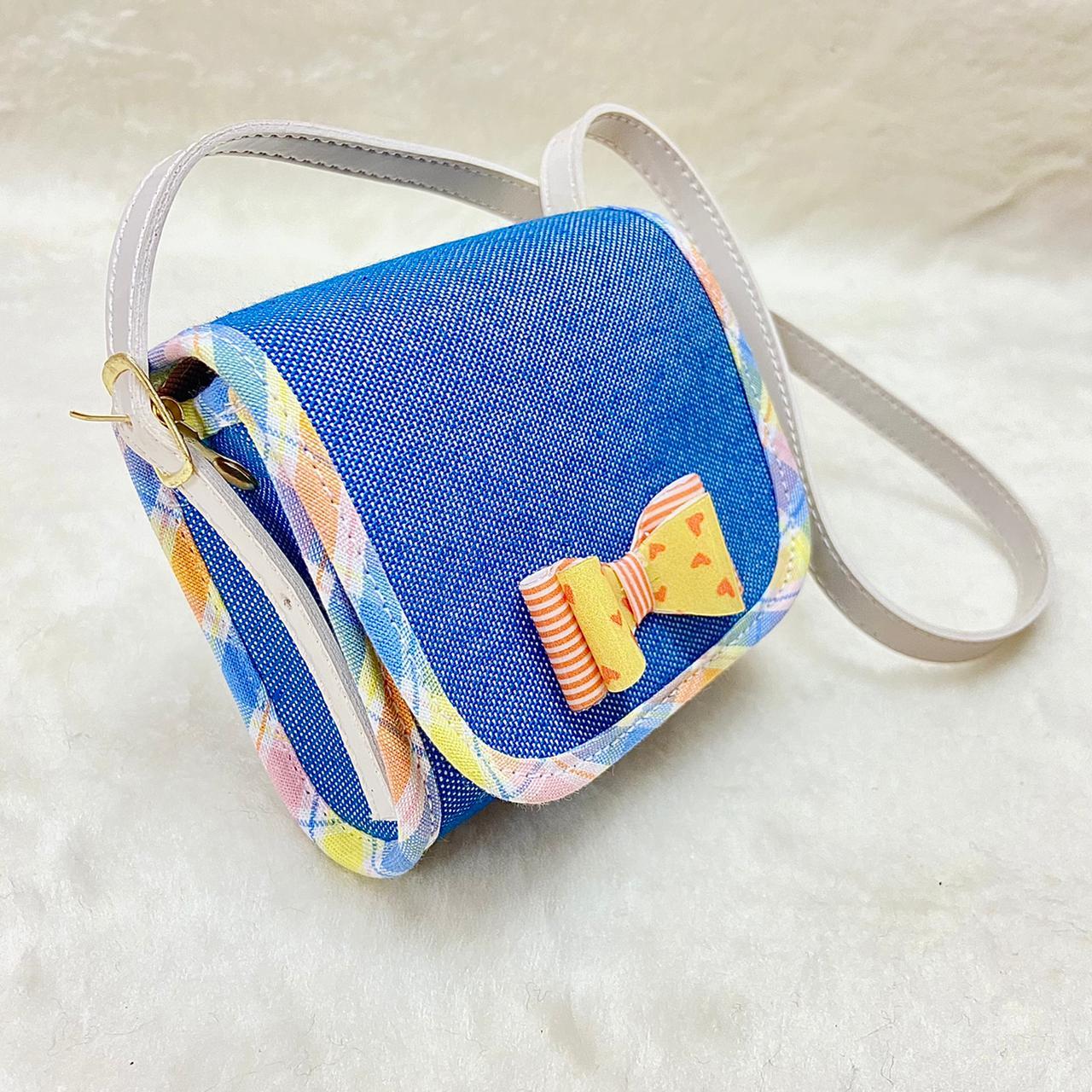 Bolsa Clutch Bebê Jeans\Xadrez