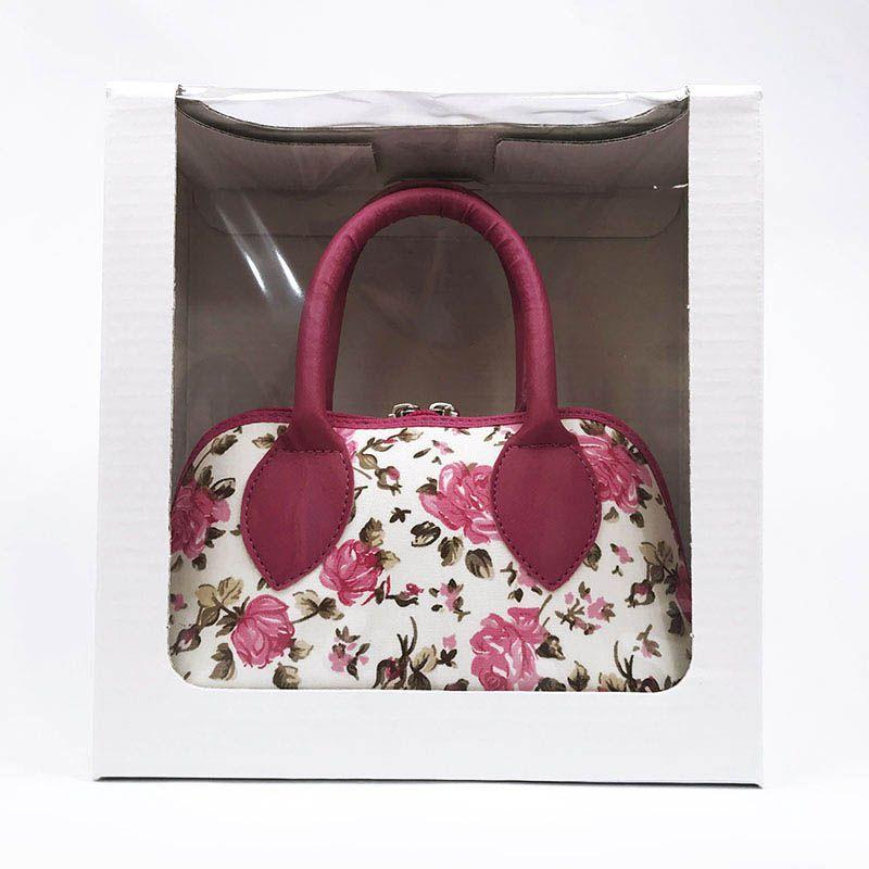 Bolsa Coleção Ester Floral Pink