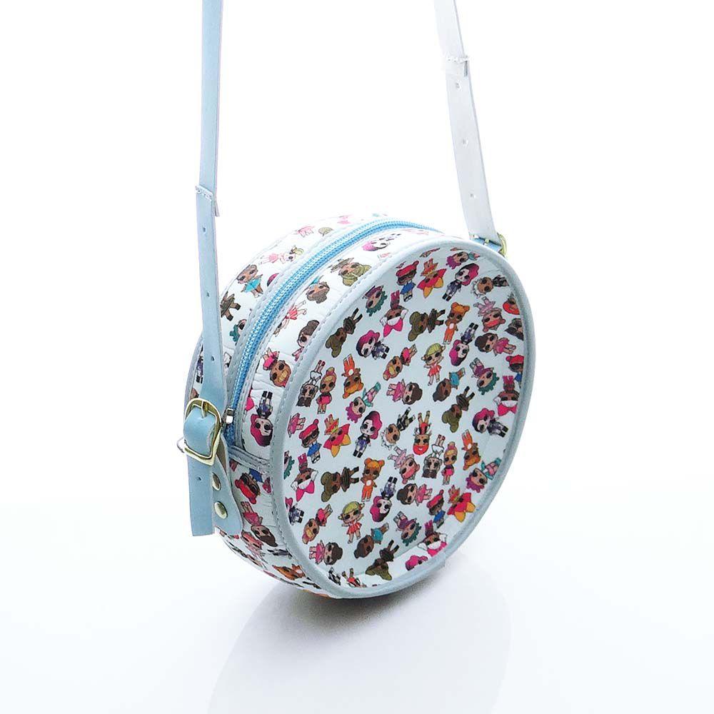 Bolsa em Formato Cantil LOL Azul