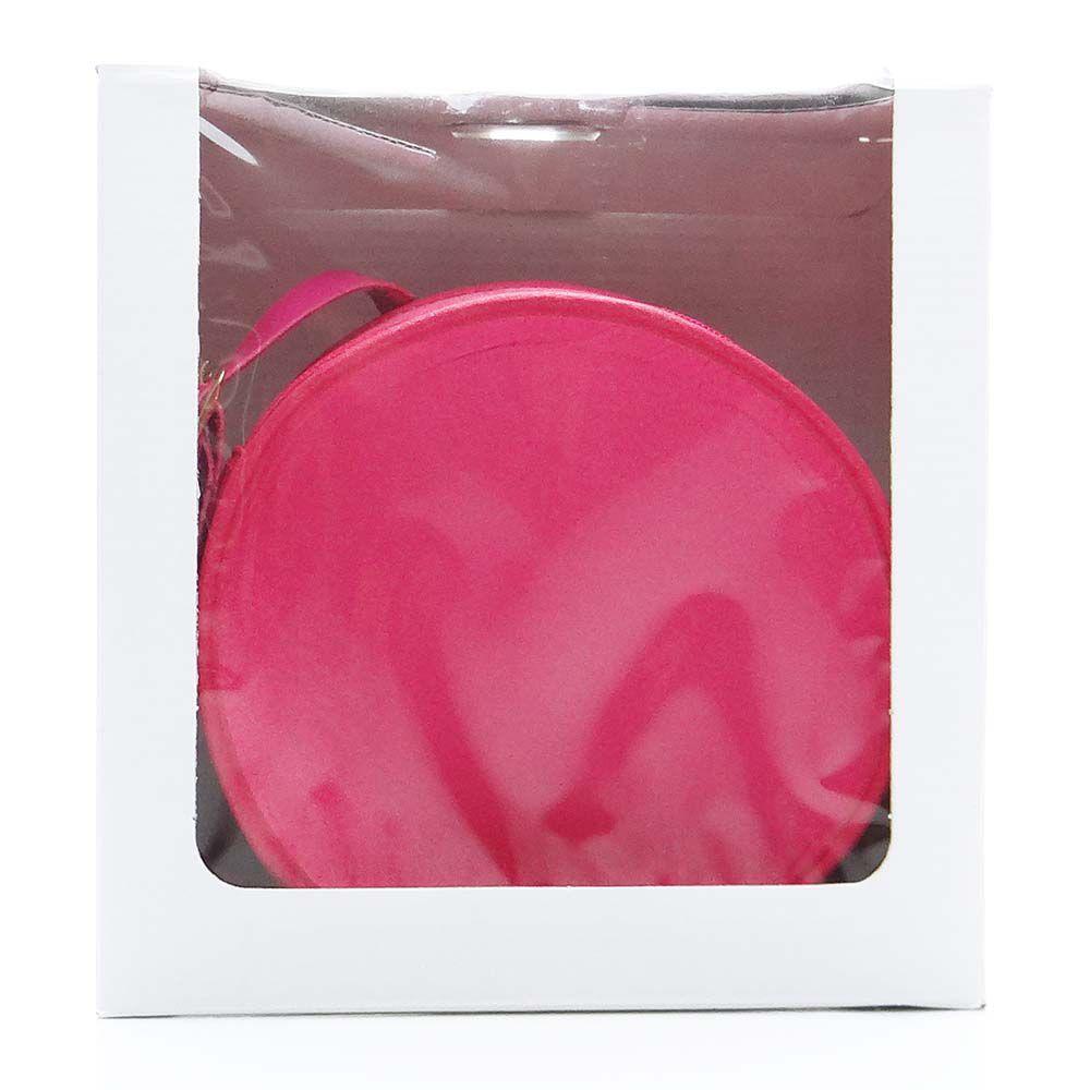 Bolsa em Formato Cantil Pink