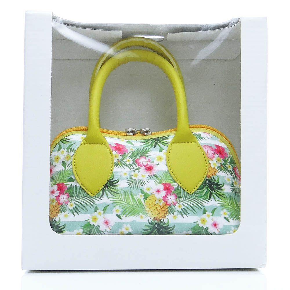 Bolsa Verão Abacaxi Amarelo