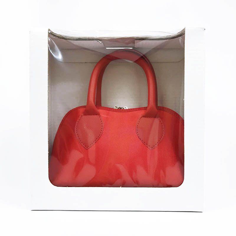 Bolsa Vermelha em Cetim
