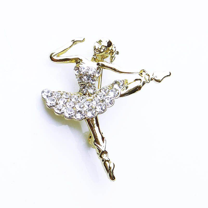 Broche Bailarina Strass