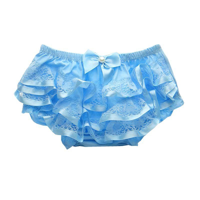 Calcinha Bunda Rica Azul Bebê