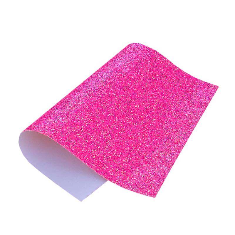 Lonita Flocada Glitter Rosa Neon