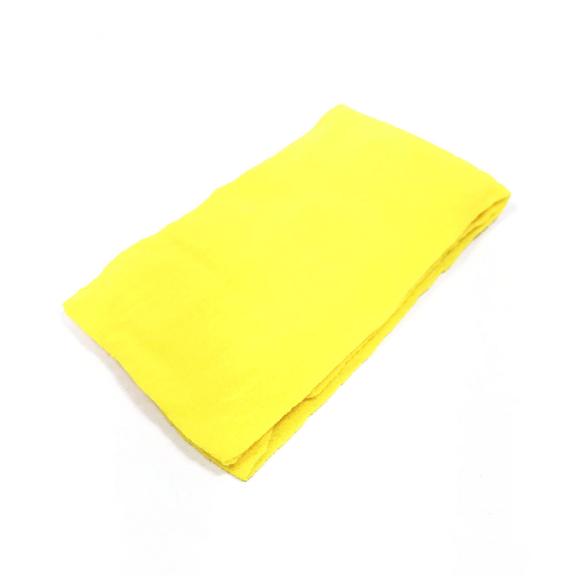 Meia de Seda Amarelo