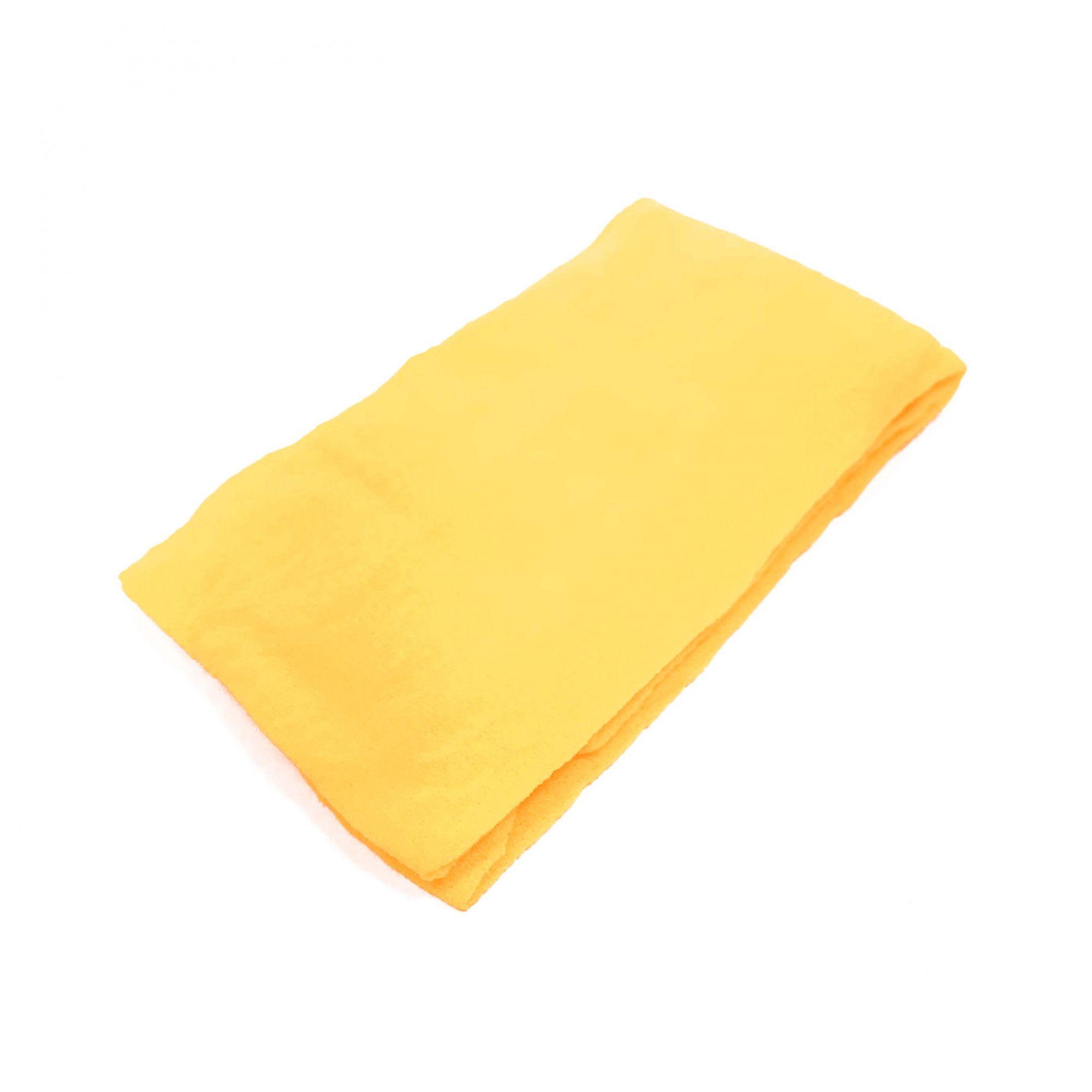 Meia de Seda Amarelo Ouro