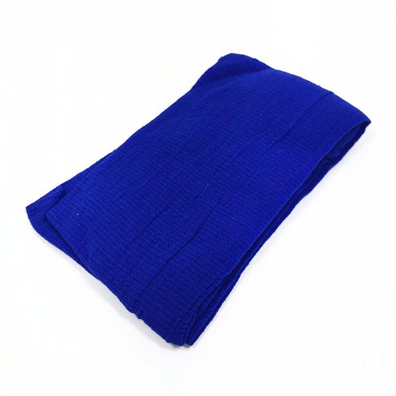 Meia de Seda Azul Bic