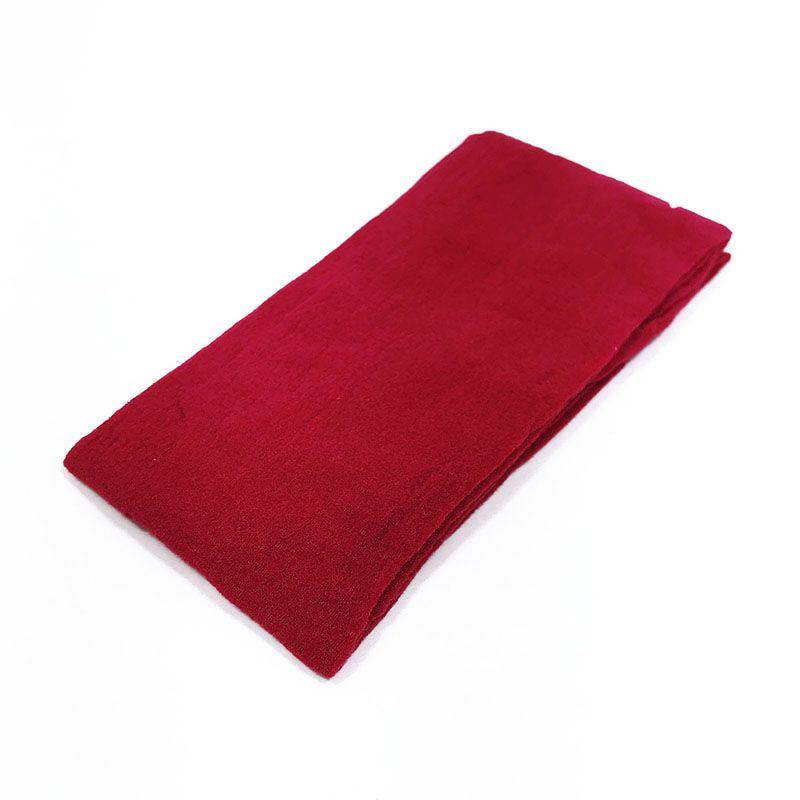 Meia de Seda Vermelha