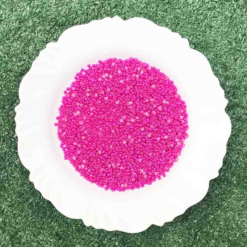 Meia Pérola 3mm Pink