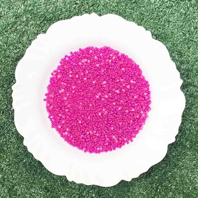 Meia Pérola 4mm Pink