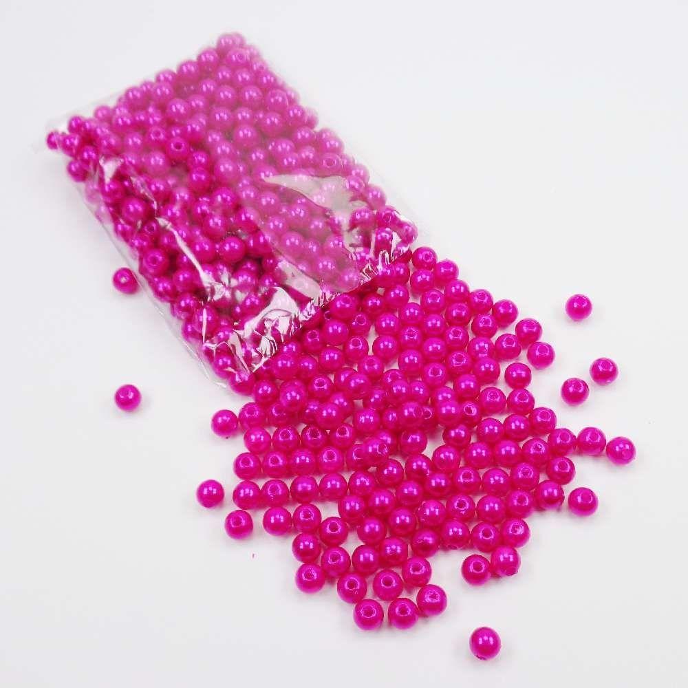 Pérola Inteira 4mm Pink