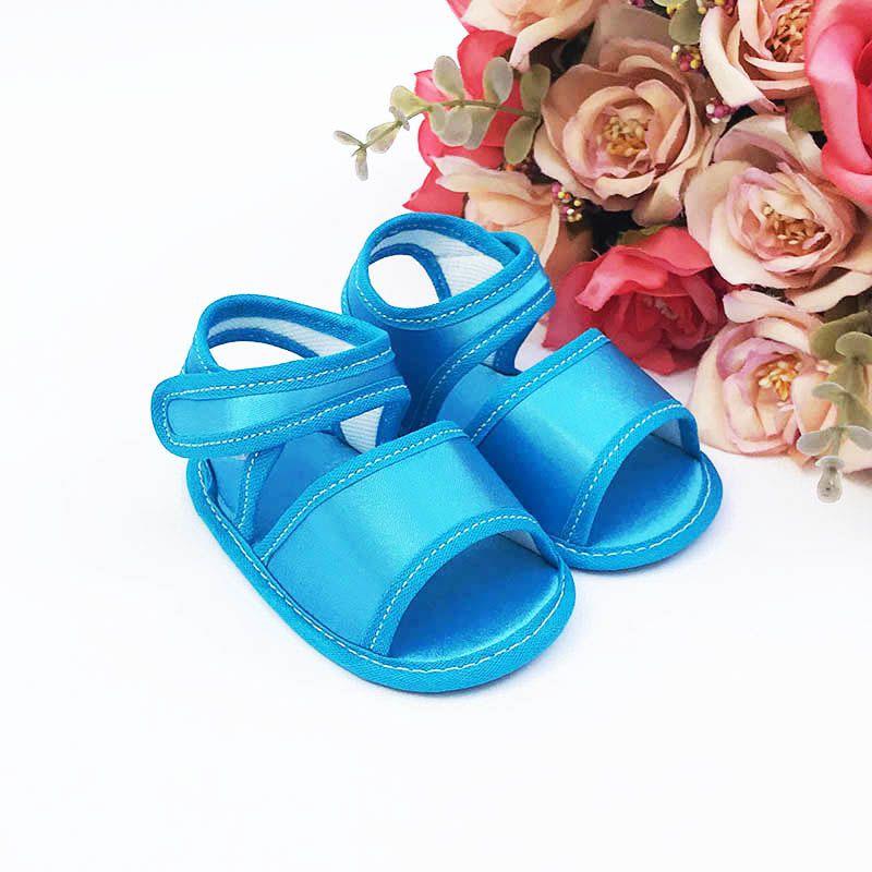 Sandália Azul Frozen em Cetim