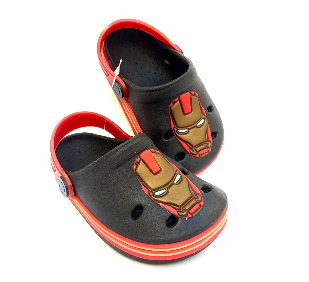 Sandália Crocs Babuche Homem de Ferro