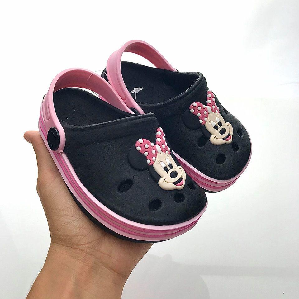 Sandália Crocs Babuche Minnie ROSA