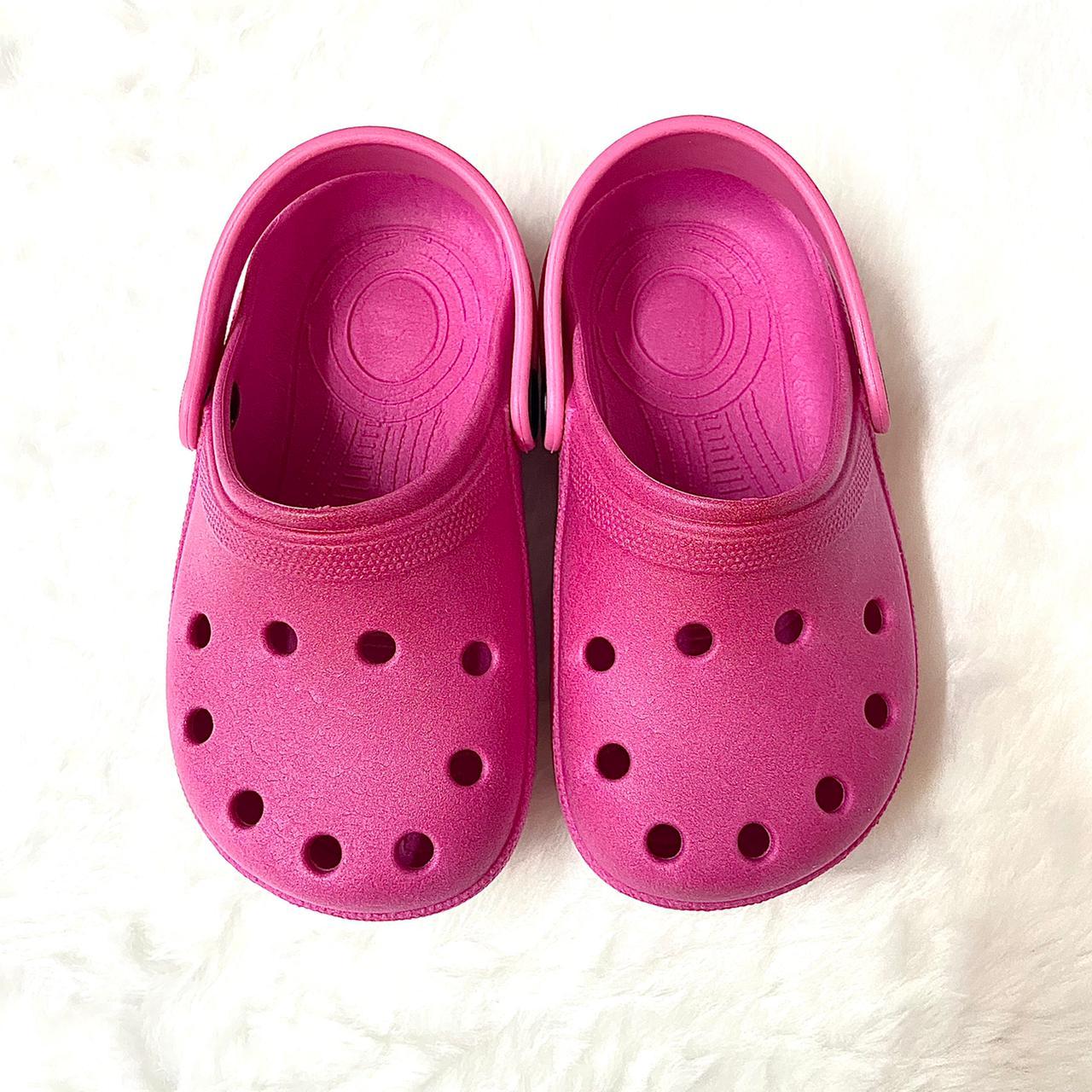 Sandália Crocs Babuche Pink