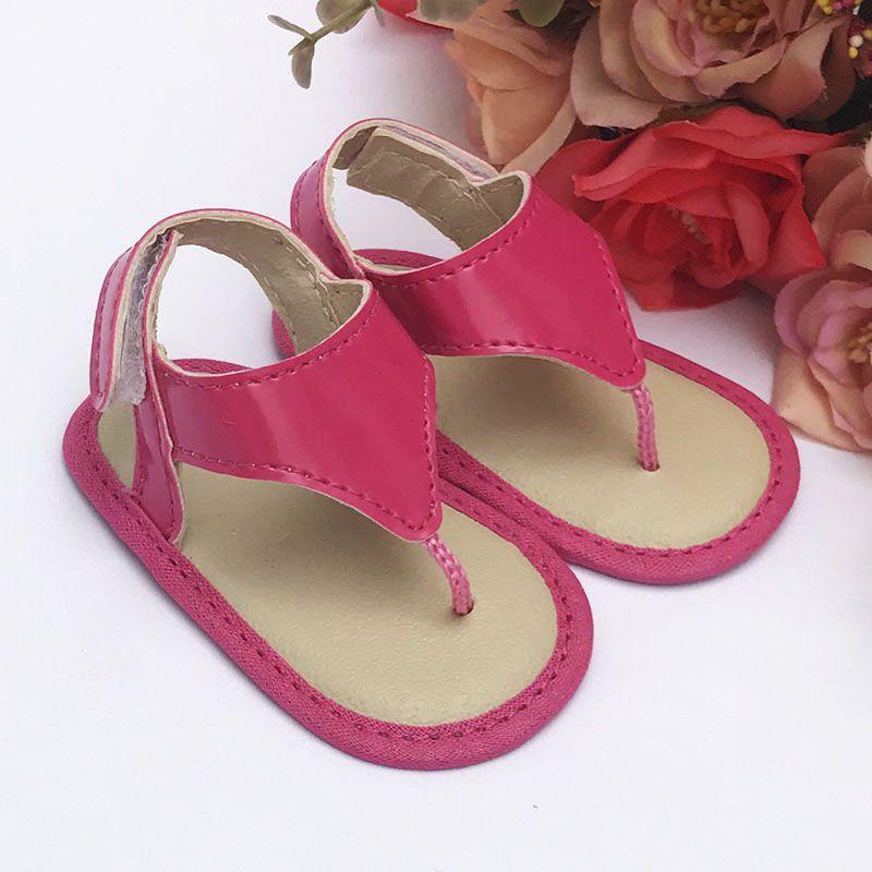 Sandália Pink em Verniz