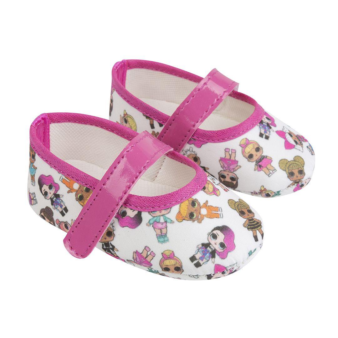 Sapatilha LOL Pink com Fecho em  Velcro