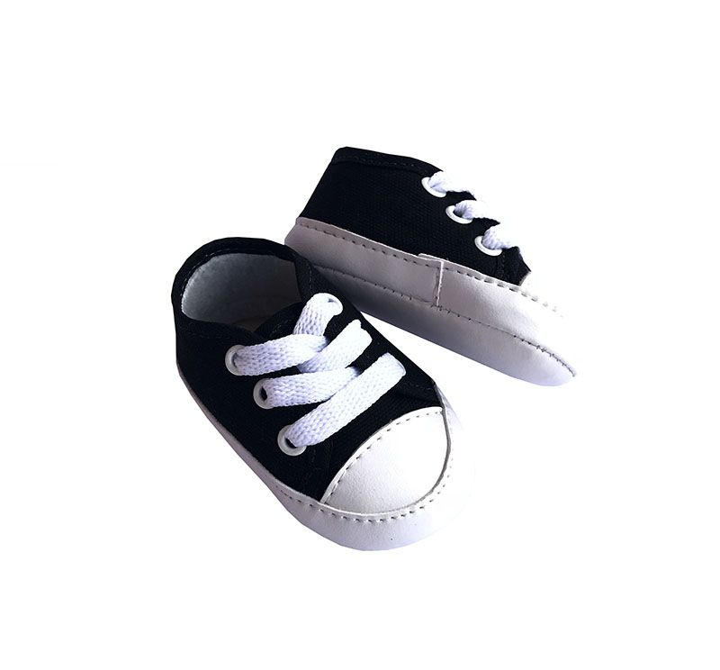 Tênis Estilo All Star Preto