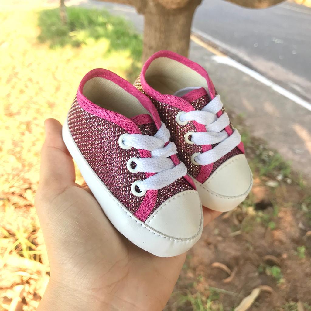 Tênis Glitter Pink
