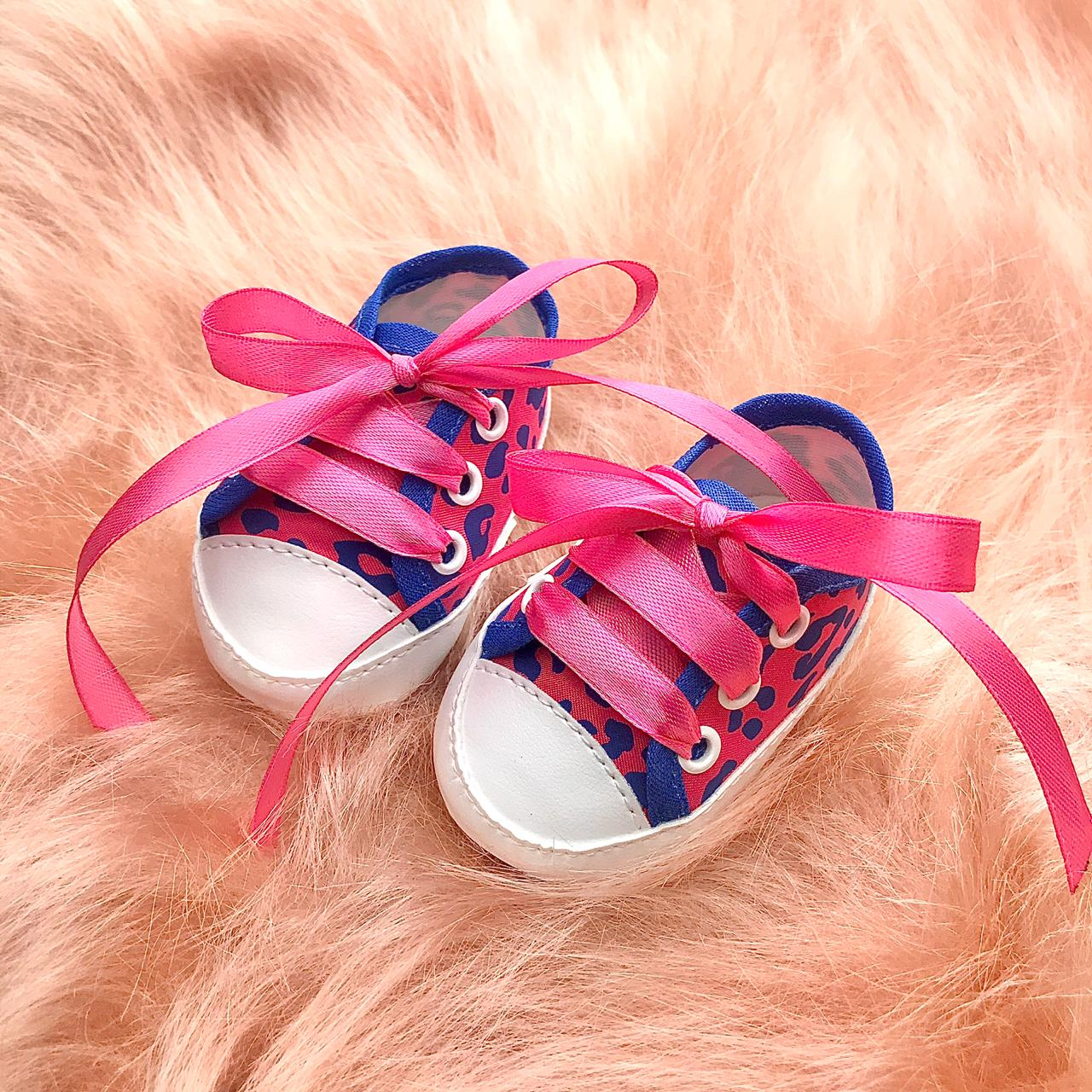 Tênis Oncinha Pink