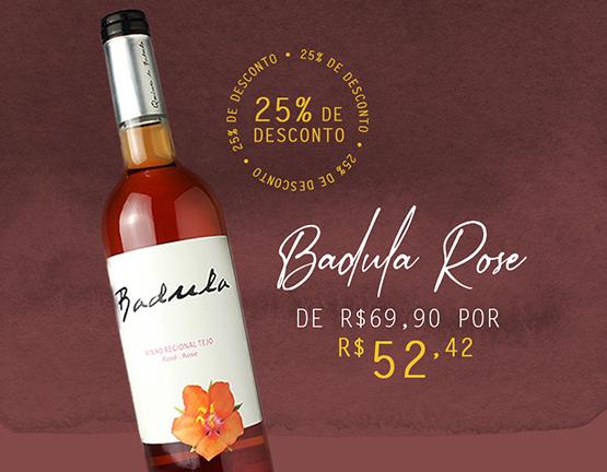 vinho rose badula