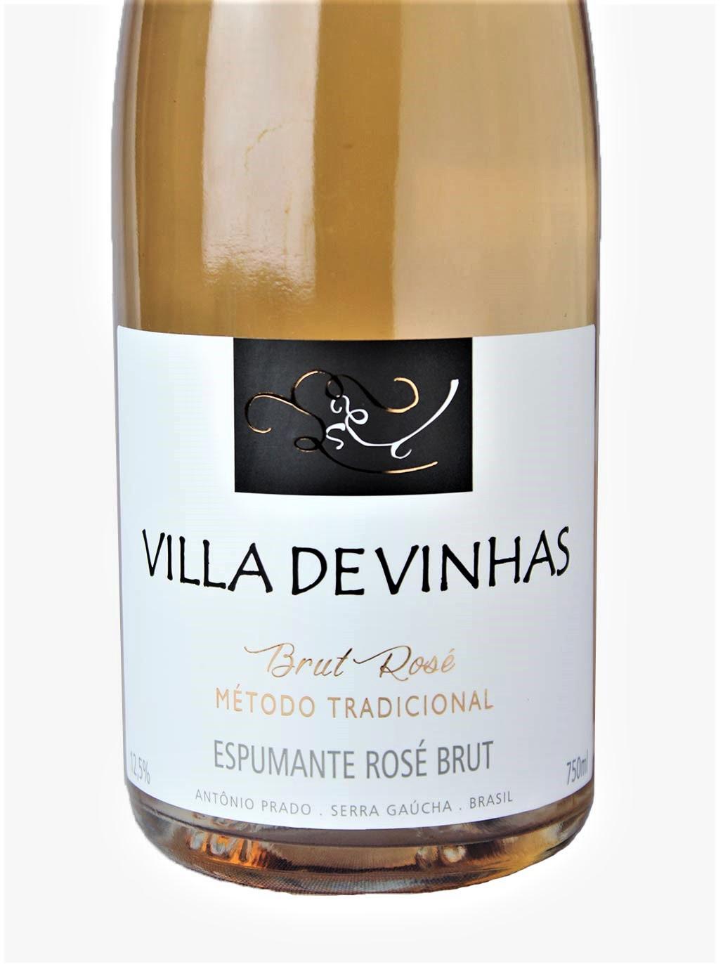 Villa de Vinhas Brut Rosé Champenoise