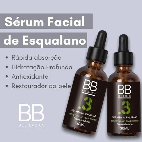 Sérum Facial de Esqualano Bee Basics