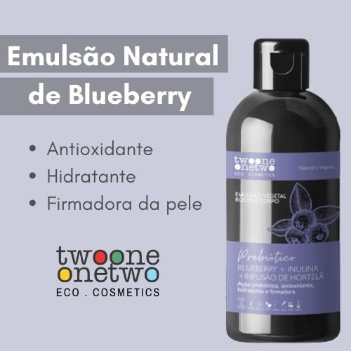 Emulsão Natural de Blueberry