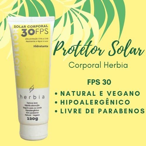 Protetor Solar Corporal Herbia