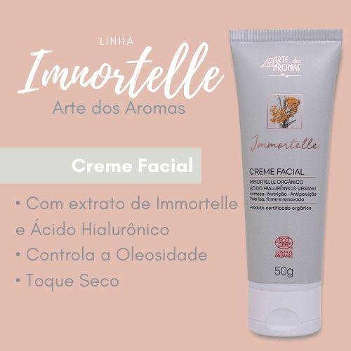 Creme Facial Arte dos Aromas