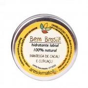 Ares de Mato Hidratante Labial Natural de Manteiga de Cacau e Cupuaçu 8g