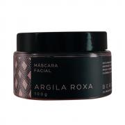Bergamia Máscara Facial Natural de Argila Roxa 100g